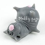 Материалы для творчества handmade. Livemaster - original item Silicone molds for soap cat with eggs is lying. Handmade.