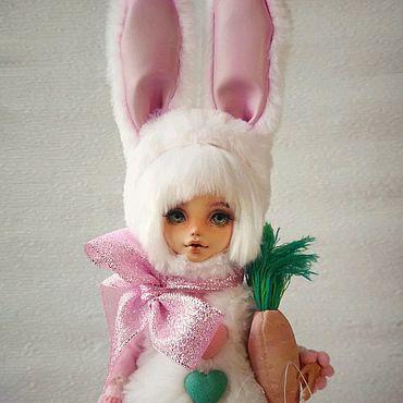 Куклы и игрушки ручной работы. Ярмарка Мастеров - ручная работа ООАК. Заинька. Авторская шарнирная кукла.. Handmade.
