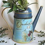 """Лейки ручной работы. Ярмарка Мастеров - ручная работа Лейка для цветов  """"House of Orchids"""".. Handmade."""