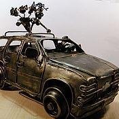 Сувениры и подарки handmade. Livemaster - original item Cumacea car (Couple in car). Handmade.