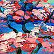 """Пейзаж ручной работы. Картина """"Сакура на Озере Mae Kuang"""" - картина с сакурой. ЯРКИЕ КАРТИНЫ Наталии Ширяевой. Ярмарка Мастеров."""
