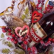 """Подарки к праздникам ручной работы. Ярмарка Мастеров - ручная работа Букет из воблы """"С любовью"""". Handmade."""