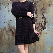 Одежда handmade. Livemaster - original item Copy of Dress made of 100 % merino wool. Handmade.