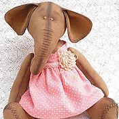 Куклы и игрушки ручной работы. Ярмарка Мастеров - ручная работа Слоник для Марии. Handmade.
