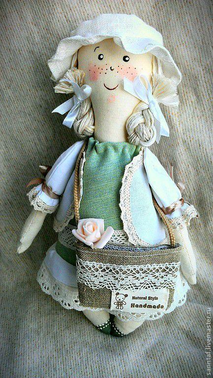 Ароматизированные куклы ручной работы. Ярмарка Мастеров - ручная работа. Купить кукла Энни. Handmade. Бежевый, кукла интерьерная