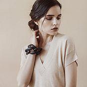 Одежда handmade. Livemaster - original item Cashmere tunic for women Mona. Handmade.