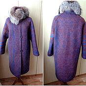 Одежда ручной работы. Ярмарка Мастеров - ручная работа Февраль; пальто валяное; утепленное. Handmade.