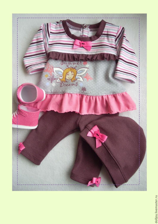 Одежда для кукол беби бон мастер класс