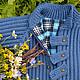Одежда для мальчиков, ручной работы. Ярмарка Мастеров - ручная работа. Купить Пальто и шапочка вязаные детские. Handmade. Тёмно-синий