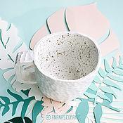 Посуда ручной работы. Ярмарка Мастеров - ручная работа Кружка Воздух. Handmade.