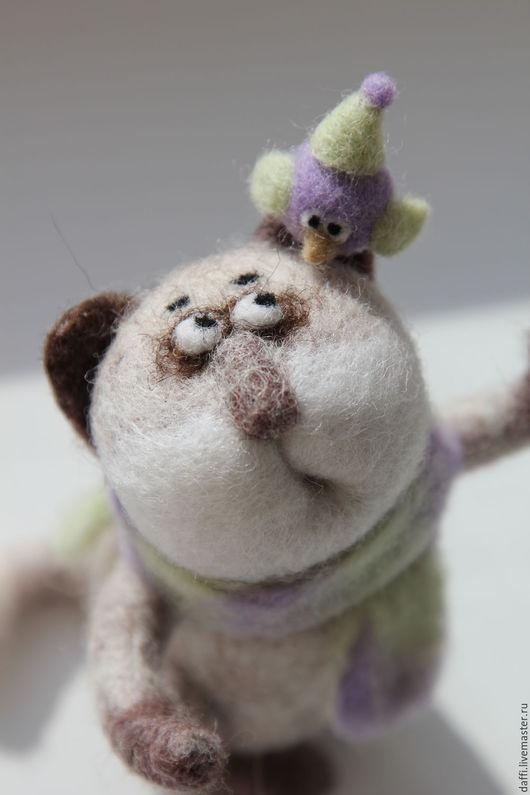 Игрушки животные, ручной работы. Ярмарка Мастеров - ручная работа. Купить Кот Мотя. Handmade. Комбинированный, сувениры и подарки