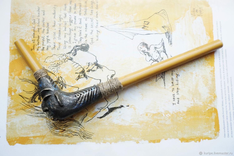 Трубка для рапэ. Тепи. tepi, Ритуальная атрибутика, Санкт-Петербург,  Фото №1