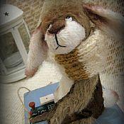 Куклы и игрушки ручной работы. Ярмарка Мастеров - ручная работа Никитка...заяц-тедди. Handmade.