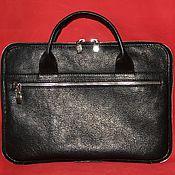 Сумки и аксессуары handmade. Livemaster - original item Laptop bag genuine leather Redbag. Handmade.