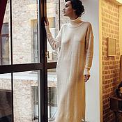 Одежда handmade. Livemaster - original item Knit dress women`s MINIMALISM. Handmade.