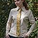 Галстуки, бабочки ручной работы. Жуки - зеленый шелковый галстук с ручной росписью. ColorDotSilk. Ярмарка Мастеров. Роспись шелка