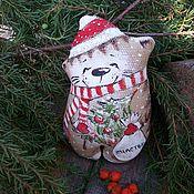Куклы и игрушки handmade. Livemaster - original item Lucky new year))) Coffee Christmas toy. Painting. Handmade.