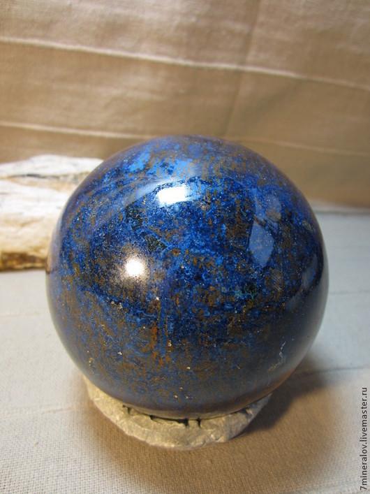 """Персональные подарки ручной работы. Ярмарка Мастеров - ручная работа. Купить 1.5кг! Шар хризоколла """"Синий цвет"""" Природный камень. Handmade."""