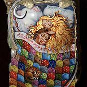 """Для дома и интерьера ручной работы. Ярмарка Мастеров - ручная работа Шкатулка """"Счастье"""". Handmade."""