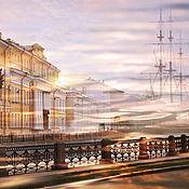 Картины и панно handmade. Livemaster - original item Photo picture of the Saint Petersburg city landscape