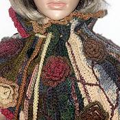 Аксессуары ручной работы. Ярмарка Мастеров - ручная работа шарф украшение снуд  ОСЕНЬ в стиле БОХО. Handmade.