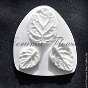 Материалы для творчества handmade. Livemaster - original item Texture of violet leaves,trefoil. Handmade.