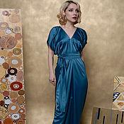 """Одежда ручной работы. Ярмарка Мастеров - ручная работа Вечернее платье """"Триумф"""" из атласа. Handmade."""
