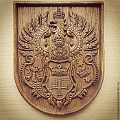 Картины и панно handmade. Livemaster - original item The Coat Of Arms Of Königsberg. Handmade.