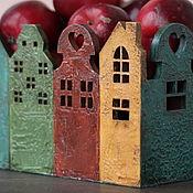 """Для дома и интерьера ручной работы. Ярмарка Мастеров - ручная работа Деревянный короб """"По дороге в сказку"""". Handmade."""
