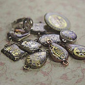 Украшения handmade. Livemaster - original item Steampunk pendants for example. Handmade.