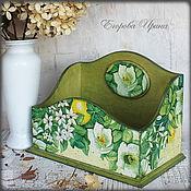 Для дома и интерьера handmade. Livemaster - original item Box organizer