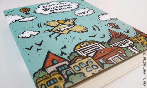 Блокноты ручной работы. Ярмарка Мастеров - ручная работа. Купить Блокнот вольной птицы. Handmade. Птицы, бумага, дизайнерская бумага