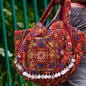 Сумки и аксессуары handmade. Livemaster - original item Crossbody bag: Bag boho