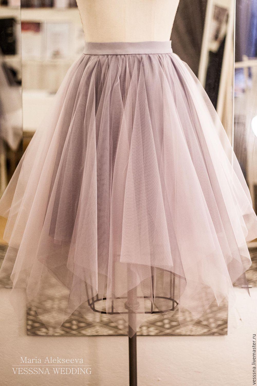 Простая юбка-пачка из фатина: расчет материала и пошив