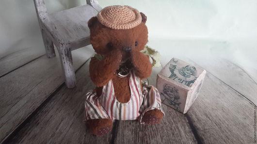 Мишки Тедди ручной работы. Ярмарка Мастеров - ручная работа. Купить А где моя песочница.....?. Handmade. Бежевый