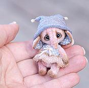 Куклы и игрушки ручной работы. Ярмарка Мастеров - ручная работа Слоник Крошка. Handmade.