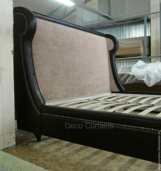 Мебель ручной работы. Ярмарка Мастеров - ручная работа. Купить BRANDY Английская кровать арт деко. Handmade. Кровать, ткань