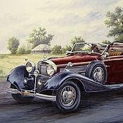 Кабриолет (мерседес кабриолет 540к 1938г)