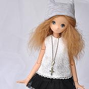 """Куклы и игрушки ручной работы. Ярмарка Мастеров - ручная работа OOAK шарнирная кукла """"Черное и белое"""". Handmade."""