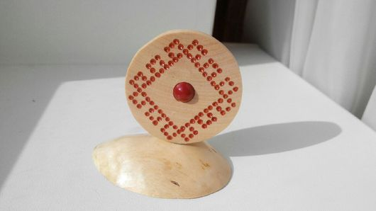 Статуэтки ручной работы. Ярмарка Мастеров - ручная работа. Купить Двусторонний оберег со славянской символикой. Handmade. Древо жизни