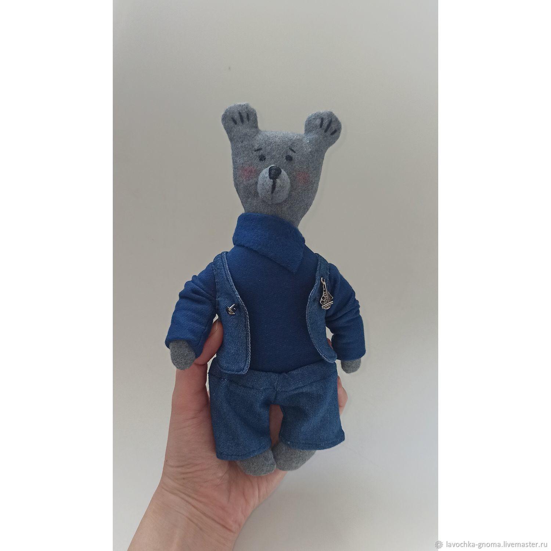 Мишка текстильный, Мягкие игрушки, Санкт-Петербург,  Фото №1