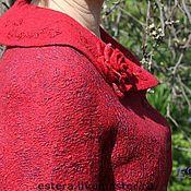 """Одежда ручной работы. Ярмарка Мастеров - ручная работа Жакет """"Рубин"""". Handmade."""