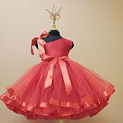 Работы для детей, ручной работы. Ярмарка Мастеров - ручная работа Красная Королева с пышной юбкой пачкой и короной. Handmade.