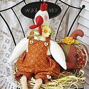 Подарки к праздникам ручной работы. Ярмарка Мастеров - ручная работа Петушок и курочка. Handmade.