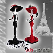 Куклы и игрушки handmade. Livemaster - original item Parisian women. Handmade.