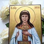 Картины и панно handmade. Livemaster - original item The Holy Martyr, Princess Anastasia Romanova.Author`s work. Handmade.