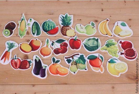 Аппликации, вставки, отделка ручной работы. Ярмарка Мастеров - ручная работа. Купить Фетр фрукты и овощи. Южная Корея. Handmade.