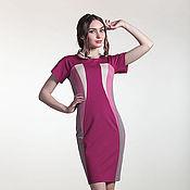Одежда ручной работы. Ярмарка Мастеров - ручная работа 234: повседневное платье летнее, офисное платье на лето. Handmade.