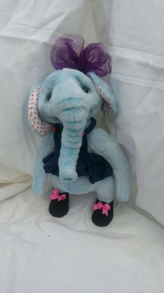 Мишки Тедди ручной работы. Ярмарка Мастеров - ручная работа. Купить Слон. Handmade. Слоник, слон, слон-тедди