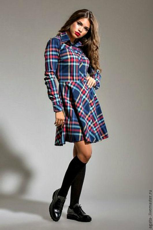 Платья ручной работы. Ярмарка Мастеров - ручная работа. Купить платье Моника. Handmade. Комбинированный, красивое платье, модное платье